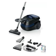 Пылесос BOSCH BWD41700, 1700Вт, черный/синий