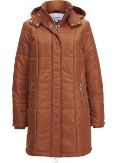 Стёганое пальто с капюшоном Bonprix