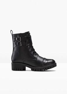 Ботинки байкерские Bonprix