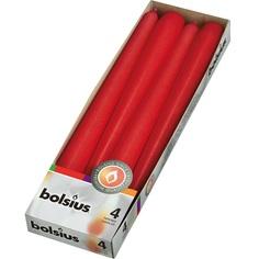 Свеча Bolsius 245/24 красные (103600350941)