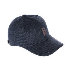 Бейсболка твид Zhejiang Yining черная 58 см