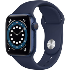 Смарт-часы Apple Watch 6 GPS 40мм Blue MG143RU/A