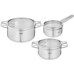 Набор посуды (нержавейка) Tefal 6 предметов Nordica (H852S325)