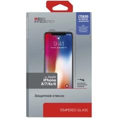 Защитное стекло InterStep глянцевое 0.3мм iPhone 8/7/6s/6, с аппл.