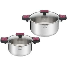 Набор посуды (нержавейка) Tefal Cook&Clip 4 предмета (G723S274)