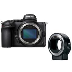 Фотоаппарат системный Nikon Z 5 Body + FTZ adapter (VOA040K002)
