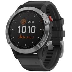 Смарт-часы Garmin Fenix 6 Pro Solar Grey/Black (010-02410-15)