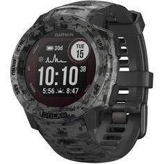 Смарт-часы Garmin Instinct Solar Graphite Camo (010-02293-05)