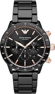 fashion наручные мужские часы Emporio armani AR70002. Коллекция Mario