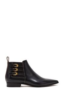 Черные ботинки-челси Gucci