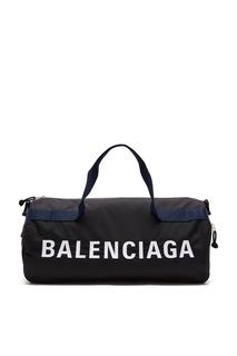 Спортивная сумка Wheel с логотипом Balenciaga