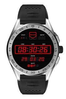 CONNECTED Смарт-часы со стальным корпусом и каучуковым браслетом Tag Heuer