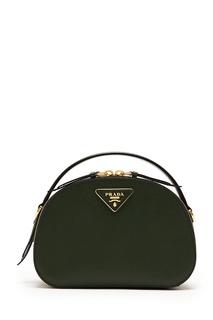 Полукруглая сумка Odette Prada