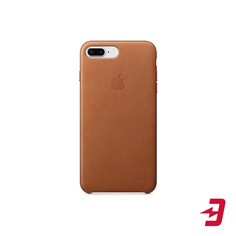 Чехол Apple для iPhone 8 Plus/7 Plus Leather Case Saddle Brown (MQHK2ZM/A)