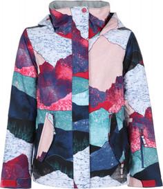 Куртка утепленная для девочек Roxy Jetty Girl, размер 140