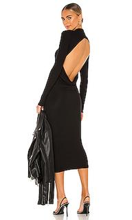 Платье миди anderson - ALIX NYC