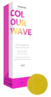 Malecula, Профессиональная перманентная крем-краска Colour Wave, 100 мл (103 оттенка) Корректор Yellow/Желтый