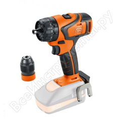 Двухскоростная аккумуляторная дрель-винтоверт fein abs 18 q select 71132264000