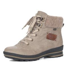 Ботинки Бежевые утепленные ботинки Rieker