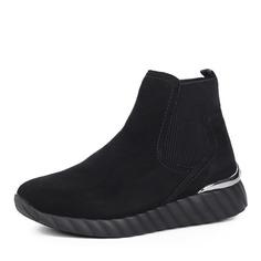 Ботинки Черные ботинки из велюра Remonte
