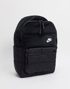 Черный бархатный рюкзак Nike