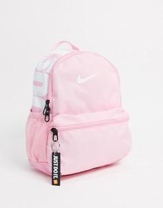 """Розовый рюкзак с надписью """"Just do it"""" Nike"""
