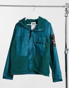 Куртка в стиле унисекс в бирюзовом цвете Helly Hansen Heritage-Зеленый