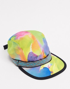 Разноцветная бейсболка с полоскам Kavu-Многоцветный