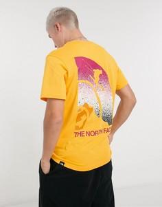 Желтая футболка The North Face Snow Maven-Желтый