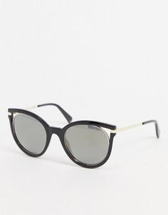 """Черные солнцезащитные очки """"кошачий глаз"""" Polariod-Черный Polaroid"""