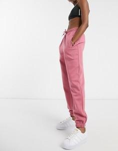 """Розовые oversized-джоггеры с манжетами adidas Originals """"Cozy Comfort""""-Розовый"""