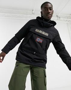 Черная куртка без застежки Napapijri Skidoo-Черный