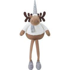 Мягкая игрушка Олень сидящий 60 см Без бренда