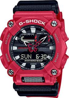 Японские наручные мужские часы Casio GA-900-4AER. Коллекция G-Shock