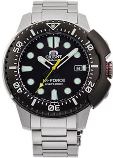 Японские наручные мужские часы Orient RA-AC0L01B. Коллекция M-Force