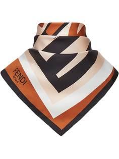 Fendi платок с логотипом