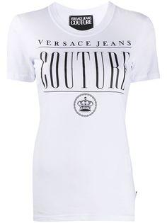 Versace Jeans Couture футболка узкого кроя с логотипом