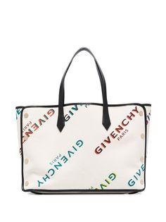 Givenchy сумка-тоут среднего размера с логотипом