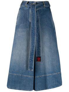 LANVIN укороченные джинсы с завышенной талией