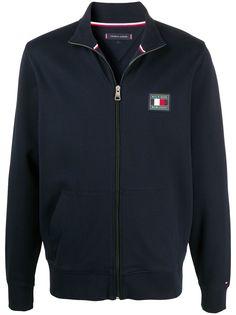 Tommy Hilfiger спортивная куртка с нашивкой-логотипом