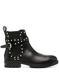 Love Moschino ботинки челси с заклепками