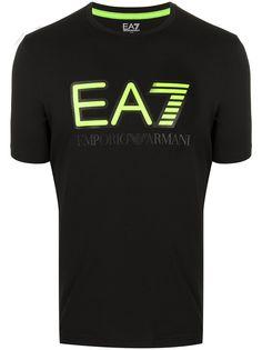 Ea7 Emporio Armani футболка с логотипом