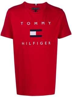 Tommy Hilfiger футболка с круглым вырезом и логотипом