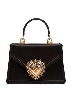 Dolce & Gabbana сумка-тоут Devotion размера мини