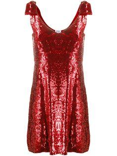 P.A.R.O.S.H. платье с аппликацией и пайетками