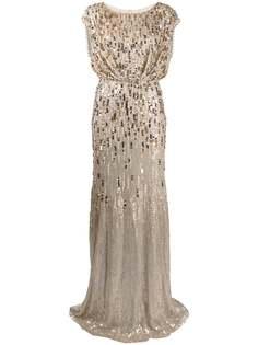 Jenny Packham вечернее платье с пайетками