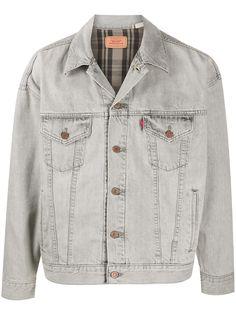 Levis джинсовая куртка с вышивкой