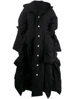 Yohji Yamamoto пуховик асимметричного кроя