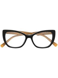 Just Cavalli очки в оправе кошачий глаз