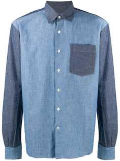 LANVIN рубашка с нагрудным карманом